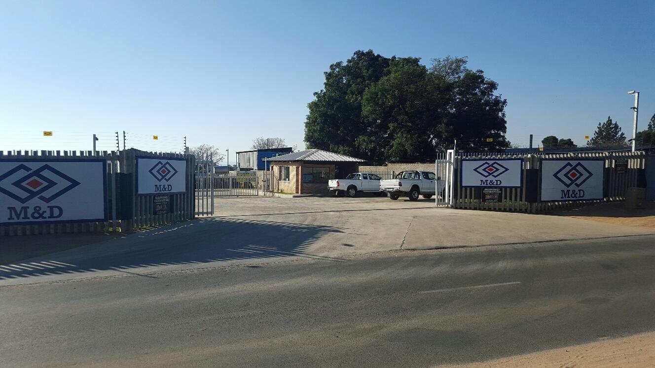 Refurbished Plant Yard Entranceway