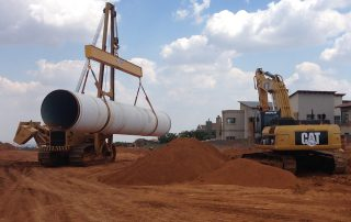 M&D Construction Pipe Laying Division
